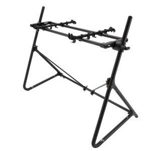 Korg Sequenz STD S ABK Stand Supporto Tastiera 61 Tasti in Alluminio Regolabile