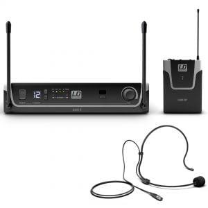 LD Systems U305 BPH - Radiomicrofono ad Archetto UHF