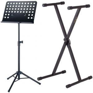 Supporto Tastiera e Leggio Musicale da Orchestra