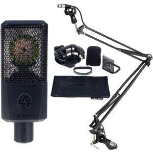 Lewitt LCT 440 PURE Bundle Microfono da Studio Vocale/Asta Microfonica da Tavolo