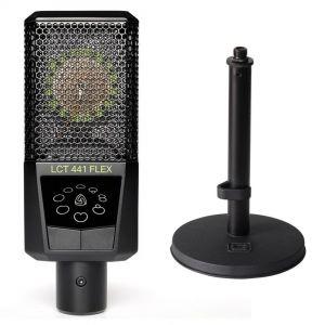 Lewitt LCT 441 FLEX Bundle Microfono da Studio con Supporto da Tavolo