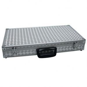 Flight Case valigetta in alluminio per microfono