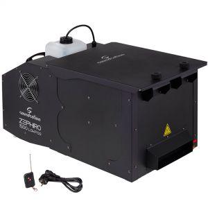 Soundsation Zephiro 1500 Low Fog DMX Macchina Fumo Basso Effetto Nebbia Ghiaccio