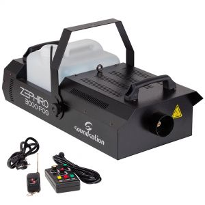 Soundsation Zephiro 3000 Fog - Macchina Fumo Dmx