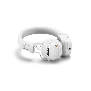Marshall Headphones Lifestyle Major III Bluetooth White - Cuffie Bluetooth