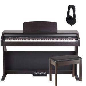 Medeli DP 250 RB Set Pianoforte Digitale / Panchetta / Cuffie