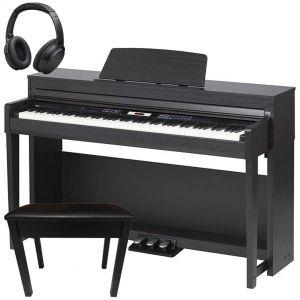 Medeli DP420K Home Set Pianoforte Digitale Nero 88 Tasti con Mobile e Accessori