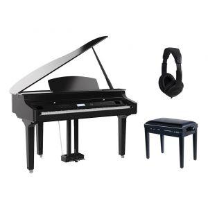 Medeli Grand 510 BK Set - Pianoforte Digitale / Panchetta / Cuffie