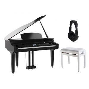 Medeli Grand 510 WH Set - Pianoforte Digitale a Coda / Panchetta / Cuffie