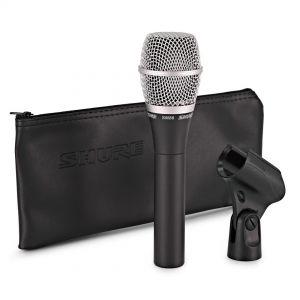 Shure SM86 - Microfono a Condensatore Professionale Cardioide per Voce e Canto