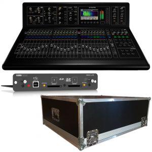 Midas M32 Mixer Digitale 32 Ch con Scheda DN32 Live e Flight Case