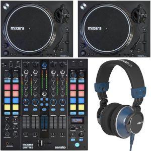 Mixars Set Up per DJ - Mixer / Coppia Giradischi / Cuffie