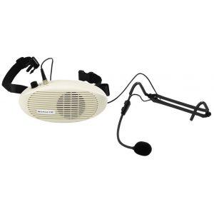 MONACOR WAP3 - Amplificatore da Cintura con Microfono Archetto Elettrete