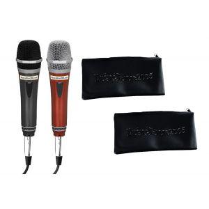 MS2005 Kit Karaoke Coppia Microfoni Dinamici / Custodie Bundle