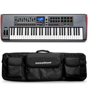 Novation Impulse 61 Tastiera Controller MIDI USB 61 Tasti con Borsa