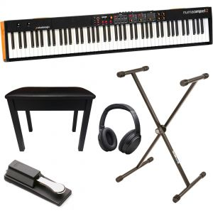 Studiologic Numa Compact 2 Home Set Piano Digitale 88 Tasti con Accessori