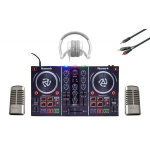 NUMARK Party Mix Console Virtual DJ Le Cuffia e Monitor DJ Professionale