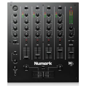 Numark M6 con 4 Canali - Mixer per DJ