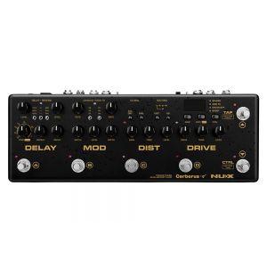 NUX CERBERUS - Pedaliera Multieffetto / Controller MIDI