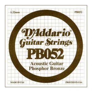 D'ADDARIO PB052 - Singola per Acustica Phosphor Bronze (052)