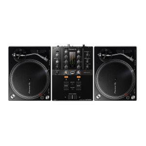 Pioneer DJM 250 MK2 con Coppia PLX 500 K Black