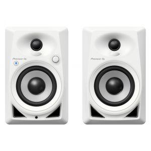 Pioneer DM 40BT White - Coppia Monitor da Studio Attive 40W / Bianche