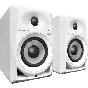 PIONEER DM40W White Coppia di Monitor Attivi DJ e Home studio