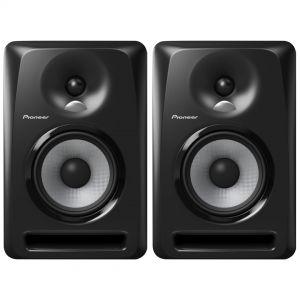 Pioneer S-DJ50X Coppia Casse Monitor Attive da Studio Nere 80W 2 Vie 5 Pollici