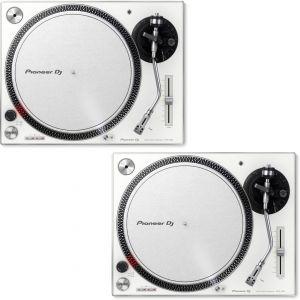 Pioneer PLX 500 White (Coppia) - Giradischi USB Per DJ