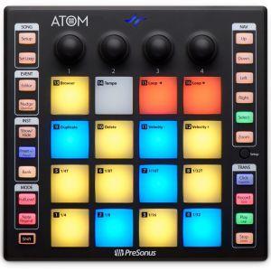 Presonus Atom Controller MIDI/USB con 16 Pad Led Rgb
