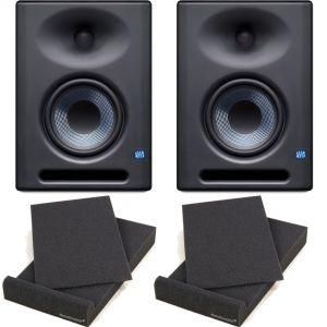 Presonus Eris E5 XT Monitor da Studio 70W (Coppia) + 2 Pad Isolante (26,5x33x4cm)