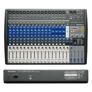 Presonus StudioLive AR22 USB - Mixer Audio Analogico Digitale 22 Canali