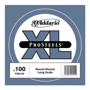 D'ADDARIO PSB100 - Singola per Basso Elettrico Pro Steels (100)