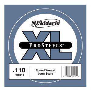 D'ADDARIO PSB110 - Singola per Basso Elettrico Pro Steels (110)