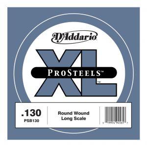 D'ADDARIO PSB130 - Singola per Basso Elettrico Pro Steels (130)