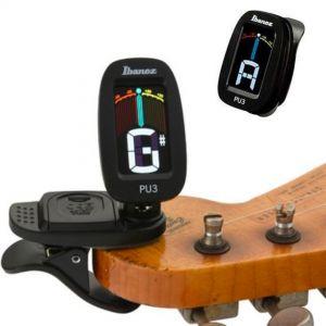 Ibanez PU3BK Accordatore chitarra elettrica, basso, banjo, mandolino, ukulele