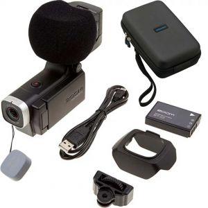 Zoom Q8 SET: Videocamera HD, Custodia, Batteria Ricaricabile