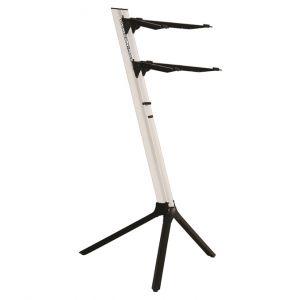 QUIKLOK SL911WH - Supporto per Tastiera Bianco Metallizato