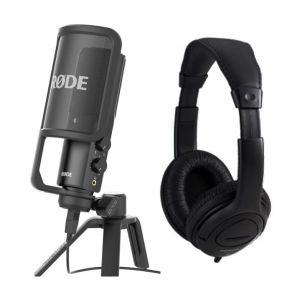 Rode NT USB Pack - Microfono da Studio con Cuffie