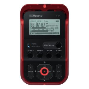 Roland R07 Red - Registratore Digitale