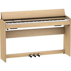 Roland F701 Rovere Chiaro Home Piano Digitale 88 Tasti