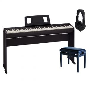 Roland FP 10 BK Home Set - Piano Digitale / Stand / Panchetta / Cuffie