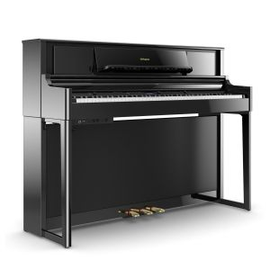 Roland LX705 Polished Ebony - Pianoforte Digitale 88 Tasti
