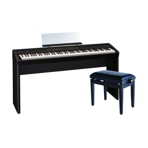 ROLAND FP50BK Pianoforte Digitale Nero / Panchetta Regolabile / Stand