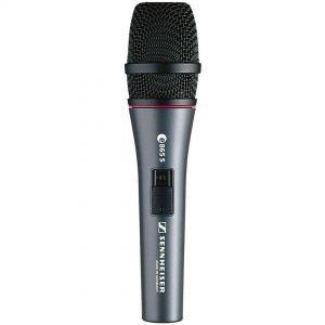 Sennheiser e865 S - Microfono a Condensatore Supercardioide per Voce con Switch On/Off