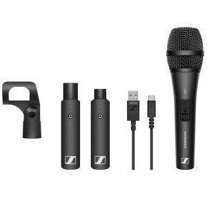 Sennheiser XSW D Vocal Set - Set con Microfono Dinamico, Trasmettitore, Ricevitore Digitale