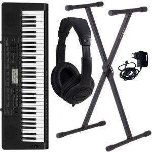 Casio CTK 3500 Set - Tastiera 61 Tasti con Stand e Cuffie