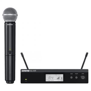Shure BLX24RE/SM58 Radiomicrofono Palmare con Capsula SM58