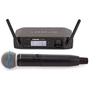 Shure GLXD24E/B58 Sistema Microfonico Wireless Digitale con Capsula Beta 58A