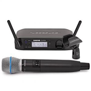Shure GLXD24E/Beta87A - Radiomicrofono Palmare Digitale Wireless per Voce
